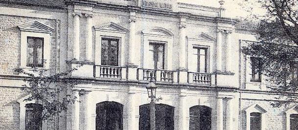 El antiguo Hospital Militar, integrado en el proyecto del nuevo Palacio de Justicia de La Rioja